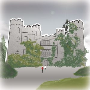 illustrations gameboard europe Dublin - Malahide Castle