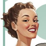 illustration pin-up girl, Illustrations for advertising storyboards, animatic and keyvisuals