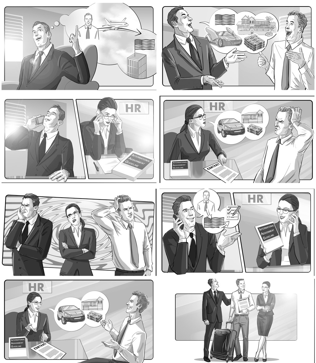 storyboard human resources
